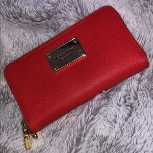 Michael Kors Mandarin Orange Wallet